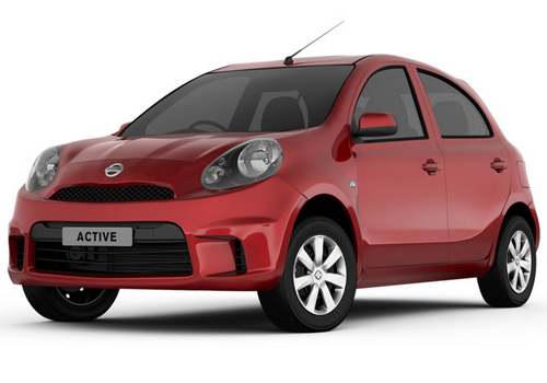Nissan Micra front pic